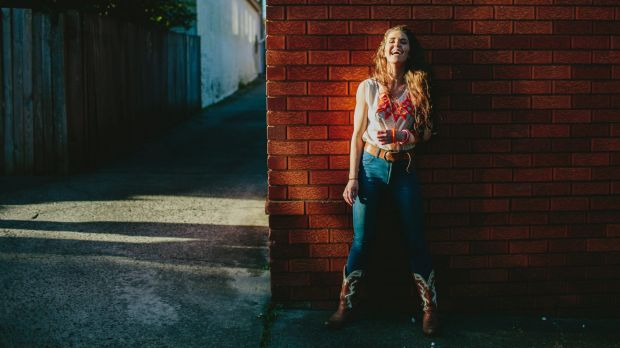 No laughing matter: 'NSW 'alt country' musician Fanny Lumsden will appear at 2016 Gympie Muster.