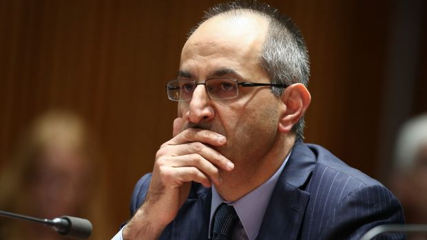 Michael Pezzullo, secretary of the Department of Immigration and Border Protection.