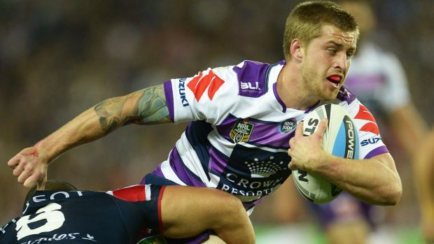 Ready to go: Cameron Munster is the front-runner to fill the Storm's vacant left centre position in Auckland.