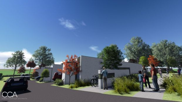 An artist's impression of the Kambah project.