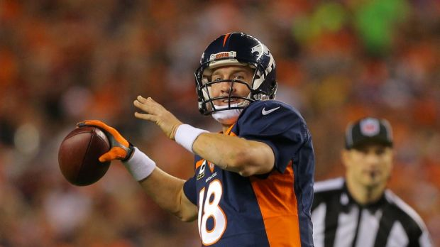 Peyton Manning, Denver Broncos quarterback, will be playing in his fourth Super Bowl on Monday morning.