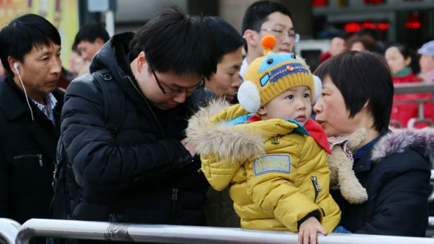 It's easier to go home for Chinese New Year if you're bringing your family along.