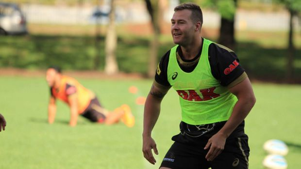 Sticking with the Panthers: Trent Merrin.