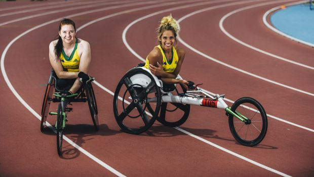 Angela Ballard and Madison de Rozario will compete for glory in the 400m at the IPC grand prix on Saturday.