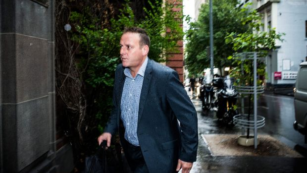 "Law suit: AFL player agent Liam Pickering has been embroiled in a ""difficult"" civil trial."