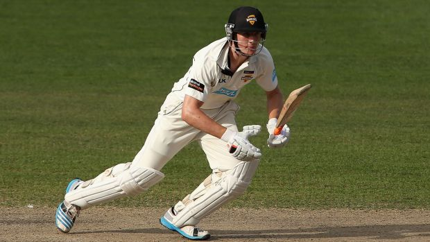 On the rise: Cameron Bancroft of Western Australia.