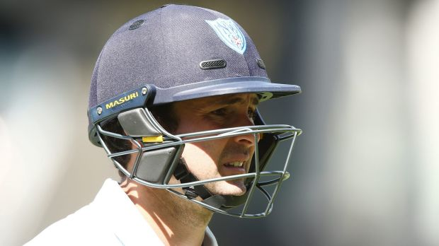Latest casualty: Ed Cowan was forced to retire after being struck on the head in NSW's Sheffield Shield game against ...