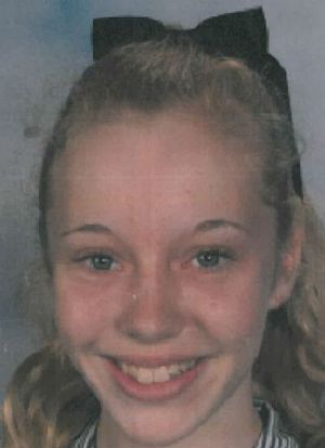 Police say the girl has been missing since Thursday.