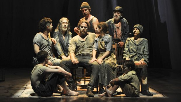 <i>The Secret River</i> cast make the most of their stylistic latitude in the 2016 production.