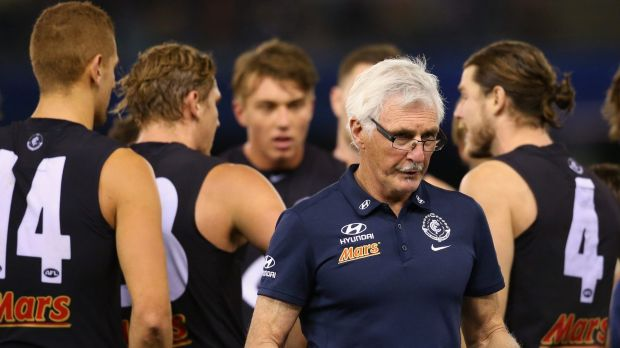 Much was expected of Carlton during Mick Malthouse's tenure, but it all went sour.