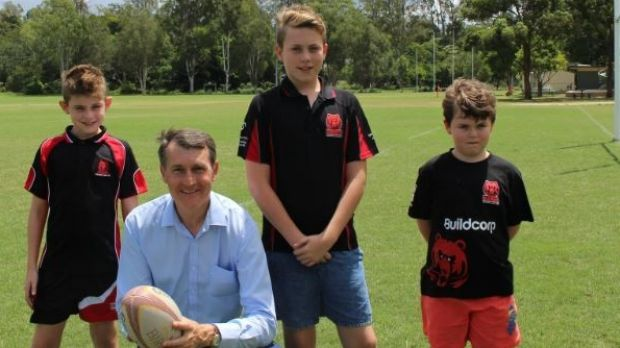 Lord Mayor Graham Quirk promises $10 million for stormwater harvesting to irrigate sports fields over four years.