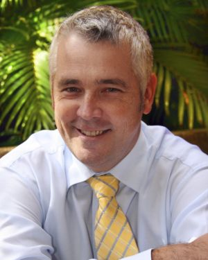 Ian McLeod in 2008 when he was acting chief executive of Ergon Energy.