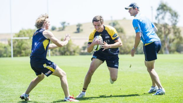 Nick Jooste impressed coach Stephen Larkham in his first hit-out with the Brumbies.