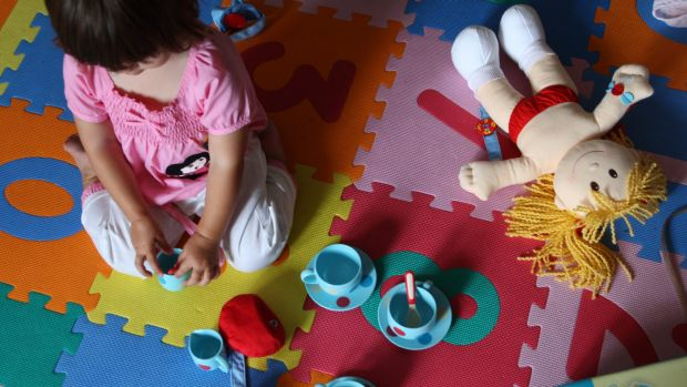 The childcare package was one of the government's key measures in the 2015 budget.