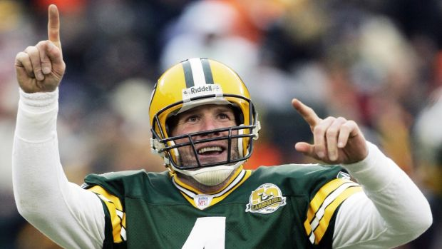 Record setter: Brett Favre lit up the NFL for 20 years.