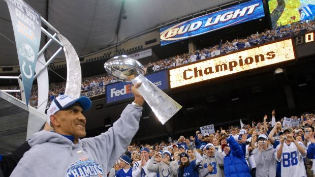 """It's very, very emotional for me"": Tony Dungy."