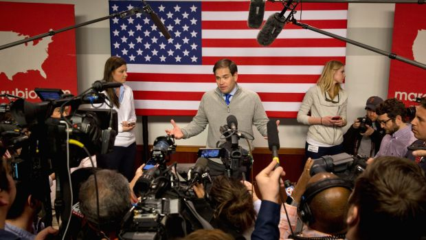 Before Saturday night's debate, Marco Rubio was regarded as one of his party's most eloquent public speakers.