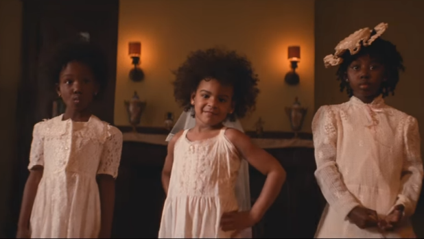 Beyonce's daughter Blue Ivy stars in Formation.