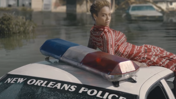 Beyonce depicts Hurrican Katrina-ravaged New Orleans in the Formation clip.