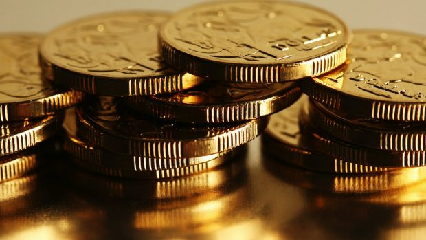 The Australian dollar has dropped around 3.7 per cent in the past three months.