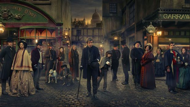 Dickensian combines the lives of the main characters from Charles Dickens' best-loved works.
