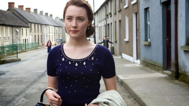 Saoirse Ronan as Eilis in the film Brooklyn, adapted from the novel by Colm Toibin.