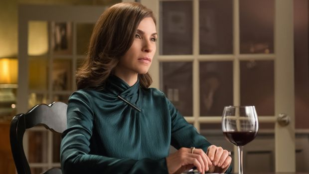 Julianna Margulies  as Alicia Florrick in <i>The Good Wife.</i>