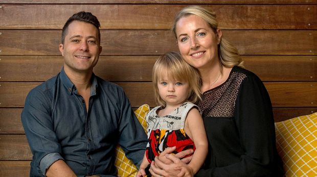 """Norbert and Suzanne with daughter Elke. """"It's difficult to thank the donor enough,"""" says Suzanne."""