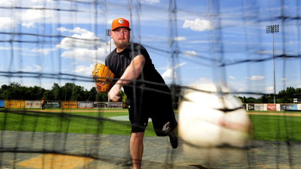 Strike out: Canberra Cavalry starting pitcher Steven Kent will start for Australia in game one of the World Baseball ...