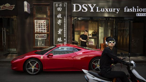 China is expected to become the world's largest luxury car market by this year.