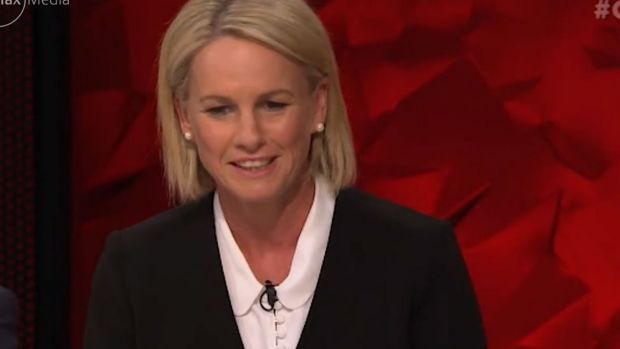 Caught on the hop: Fiona Nash.