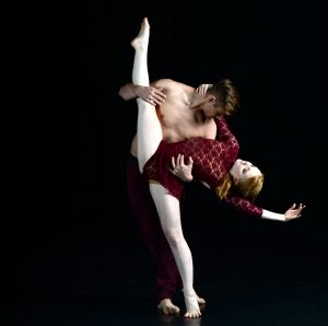 Dancers Chris and Felice will be performing in The Famous Spiegeltent.