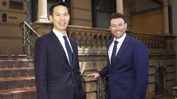 Ophir Asset Management co-founder and portfolio manager Andrew Mitchell (right) and Steven Ng say investors should be ...