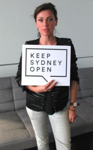 Singer Tina Arena backs the campaign to Keep Sydney Open.
