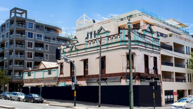 The former Redfern House Hotel is on the market through CBRE.