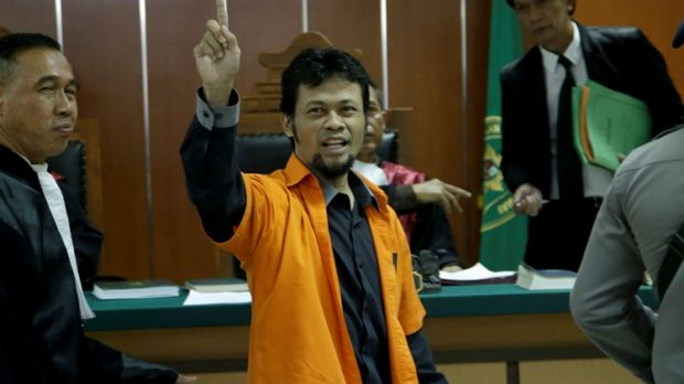 Tuah Febriwansyah, also known as Muhammad Fachry, was sentenced to five years' jail for online activities encouraging ...