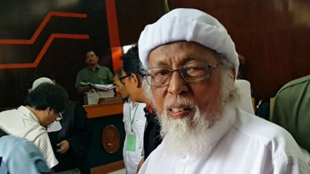 Indonesian Islamist figure Abu Bakar Bashir appears in court earlier this year. One challenge identified by the report ...