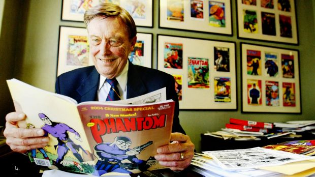 Jim Shepherd, the Australian publisher of the Phantom comics, in 2004. Shepherd was director of Frew Publications and ...