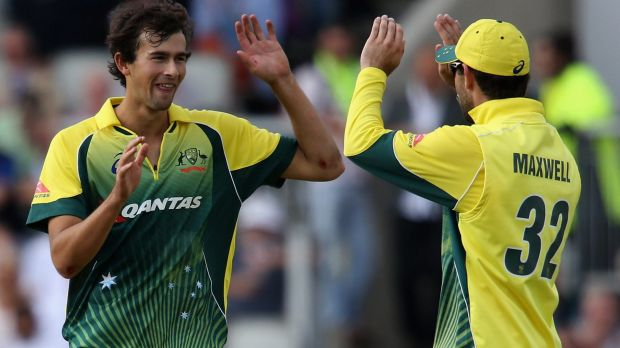 On the edge: Ashton Agar only bowled one over against New Zealand