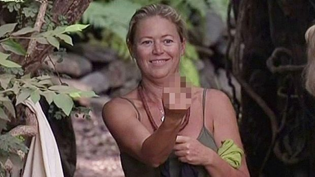 Former TV personality Jo Beth Taylor and Bachelor star Laurina Fleure are at each other's throats on I'm A Celebrity.