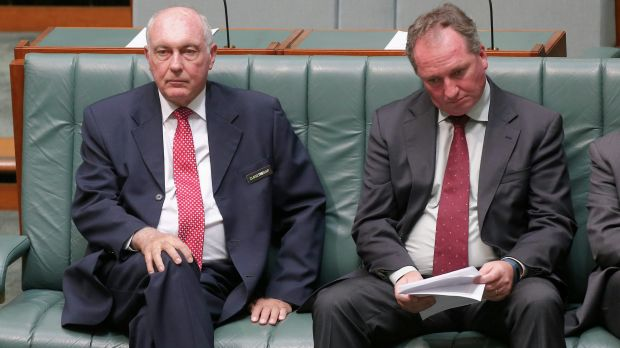 Nationals deputy leader Barnaby Joyce is favourite to replace Mr Truss as party leader and deputy Prime Minister.