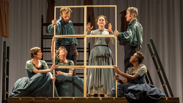 Madeleine Worrall in National Theatre Live's Jane Eyre.
