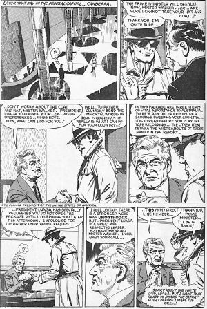 "The Phantom story was often localised. ""The Kings Cross Connection"" was written by Australian Jim Shepherd with art by ..."