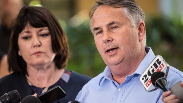 Questions over transparency: Ralph and Kathy Kelly, parents of one punch victim Thomas Kelly.