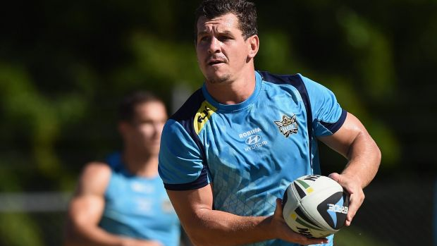 Missed out: Greg Bird has been overlooked for the position of Gold Coast Titans captain.