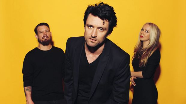 Something for Kate, from left: Clint Hyndman, Paul Dempsey and Stephanie Ashworth.