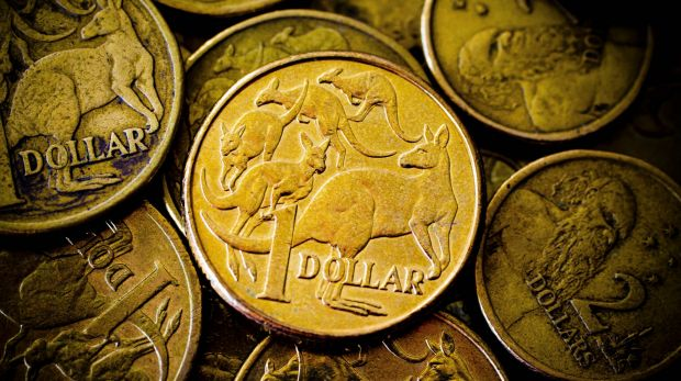 The Australian dollar was 1.4 per cent higher at US79.31¢, up more than one US cent.