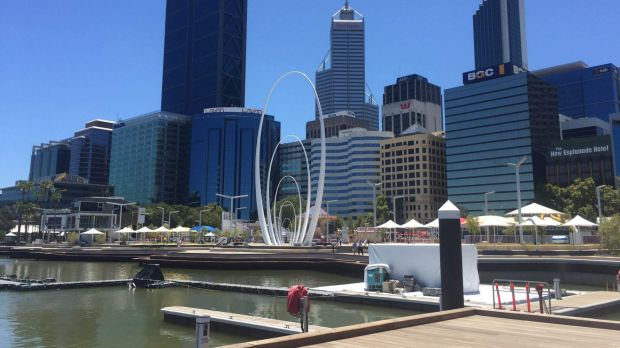 The latest issue with Elizabeth Quay reportedly relates to sewerage pipes flowing the wrong way.