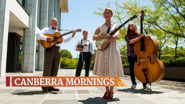 Black Mountain String Band launching the National Folk Festival, which will celebrate its 50th anniversary this year.