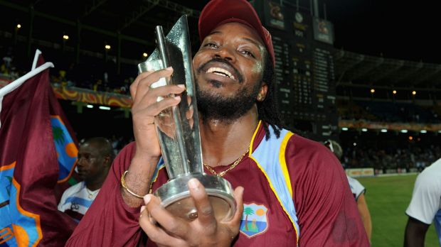 Chris Gayle with the trophy after the West Indies won the 2012 World Twenty20. Next month's tournament has been beset by ...